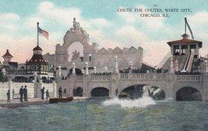 CHICAGO, Illinois, 00-10s ; White City , Chute the Chutes