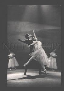 097245 MAXIMOVA & LIEPA Russian BALLET Star DANCER old PHOTO