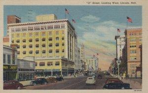 LINCOLN , Nebraska , 1930-40s; 0 Street