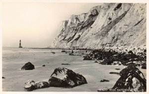 Vintage Real Photo Sussex Postcard, Beachy Head, Eastbourne (W.H Smith) DL3