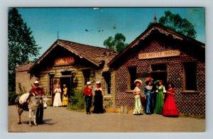 Buena Park CA, Bottle House, Knotts Berry Farm, Chrome California Postcard