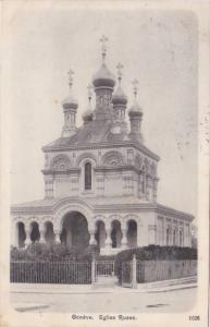 Switzerland Geneve Eglise Russe 1910