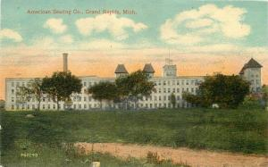American Seating C-1910 Factory Industry Grand Rapids Michigan postcard 6872