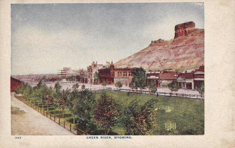 GREEN RIVER, Wyoming, 1900-1910s; General View