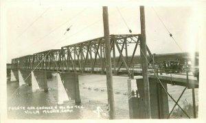 Del Rio Texas Bridge Villa Acuna Mexico #19 Postcard 21-9852