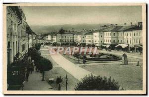 Postcard Old Basnka Bystrica Hlavne namestie