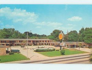 Unused Pre-1980 OLD CARS & QUALITY INN TOWNHOUSE MOTEL Albany Georgia GA M0354