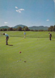 Golf Course , Magog-Orford , Quebec, Canada , 1989