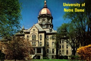 Indiana South Bend University Of Notre Dame The Golden Dome