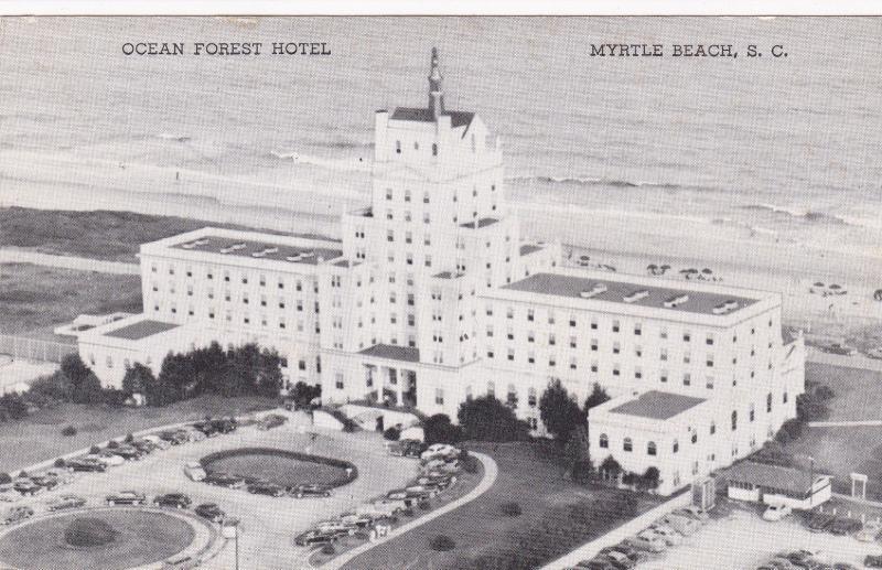 Myrtle Beach South Carolina 1930s Ocean Forest Hotel