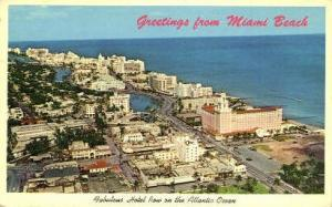 Hotel Row Miami Beach FL 1965