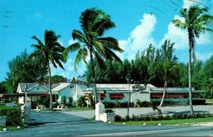 Florida Dania Tropical Acres Restaurant 1970