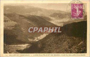 Old Postcard Masevaux Valley Lakes Alfeld and Sewen