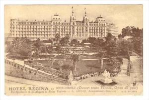 Hotel Regina, Nice-Cimiez (Alpes Maritimes), France, 1900-1910s