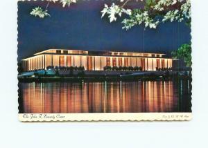 Postcard Virginia John F Kennedy Center Performing Arts Night Scene  # 4511A