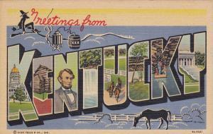 Scenic Greetings from Kentucky, PU_1949