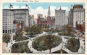 USA Union Square Park Promenade New York