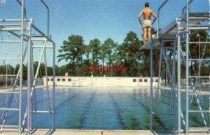 KEESLER AIR FORCE BASE, BILOXI, MS. Electronics Training Center 1953 Aimens pool