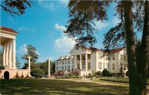 Jackson Mississippi~Belhaven College~Fitzhugh & Preston Halls~1950s Postcard