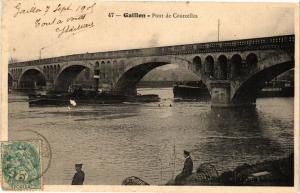 CPA GAILLON-Pont de Courcelles (29217)