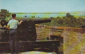 Rampart Of Fort Pulaski Savannah Georgia