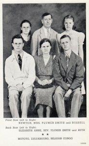 Missionaries ; MUTOTO , Luluabourg , Belgian Congo , 1930-50s