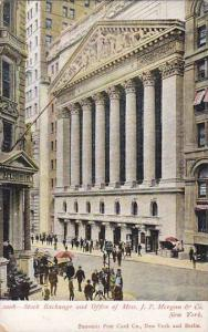 Stock Exchange and Office of Mess. J.P. Morgan & Co., New York,  00-10s