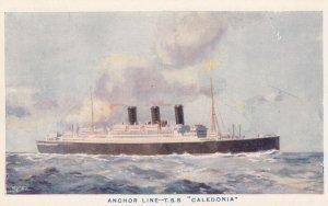 Anchor Line-T.S.S. Caledonia, Ocean Liner, 10-30s