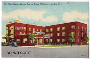 Hotel Lincoln, Lincoln Ave, Wildwood NJ