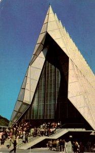 Colorado Colorado Springs Cadet Chapel U S Air Force Academy 1963