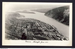 Dawson (Yukon) - Dawson Midnight June 1901- 1950s? RPPC real photo postcard