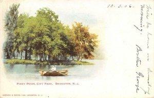 Piney Point, City Park BRIDGETON, NJ Cumberland County 1906 Vintage Postcard