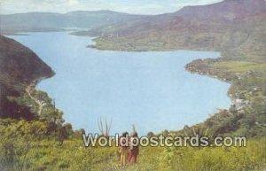 Lago de Amatitlan, Lake Amatitlan Guatemala City Guatemala, Central America W...