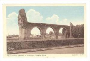 Ruines De L'Ancienne Eglise, Bricquebec (Manche), France, 10-20s