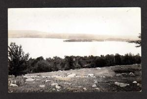 ME Bear Spring Camps OAKLAND MAINE Real Photo Postcard