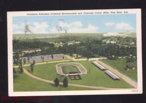PINE BLUFF ARKANSAS PINECREST COTTON MILLS FOOTBALL STADIUM VINTAGE POSTCARD