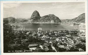South America - Brazil, Rio de Janeiro, Bird's Eye View     *RPPC
