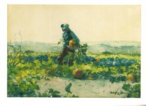 For to be a Farmer's Boy by Winslow Homer