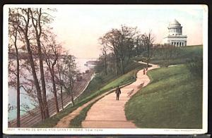 Riverside Drive and Grant's Tomb Railroad Tracks Freight Cars