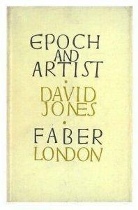 David Jones Epoch & Artist Rare Faber Book Postcard