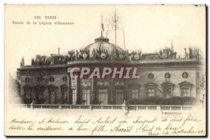 Old Postcard Paris Palace of the Legion of Honor