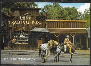 Washington, Winthrop, Last Trading Post, unused