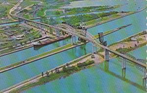Canada Sault Ste Marie International Bridge Ontario