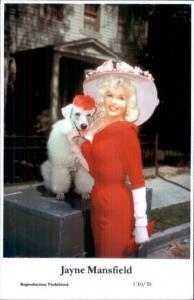Beautiful Actress Jayne Mansfield C10/70 Swiftsure 2000 Postcard GREAT QUALITY