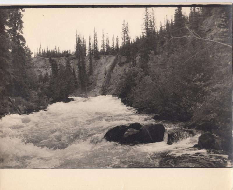 3 RPs; River Views , B.C. Rail, Canada , 1900-10s