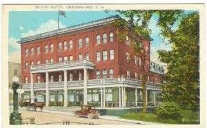 Magog Hotel, Sherbrooke, Quebec, Canada, PU-1929
