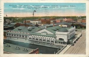 Aurora Illinois~Sylvandell Amusement Palace~Island Avenue~Rialto Theatre~1925