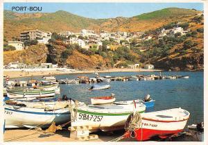 Spain Costa Brava Port-Bou Detalle boats harbour hafen port