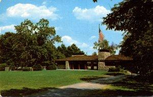 Ohio Cincinnati Oak Ridge Lodge In Mount Airy Forest 1954