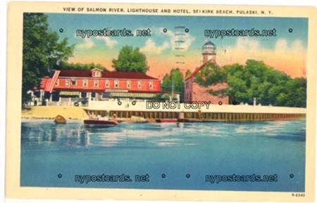 Lighthouse & Hotel, Selkirk NY